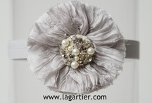 Winter White Wedding Garter + Things to Match / These are the La Gartier garters that are designed in white. They scream winter....and scream cuddle up......and scream shared blankets. / by LaGartierWeddingGarters