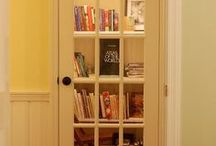 Bookshelves/ books / by Caryn Rowland