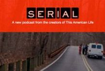 Serial Podcast / One story. Told week by week. Hosted by Sarah Koenig: http://serialpodcast.org.  / by Christine Cassis