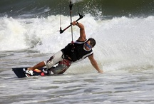 Kiteboarding Awesomeness / Harnessing the power of the wind while skimming along the surface of the water makes one as majestic as a bird. Kiteboarding rocks! / by Sportbay