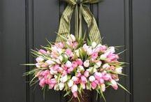 Door Wreaths / by Preet Gill