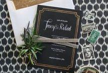 Wedding Stationery /   / by Karen Dessire