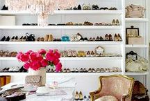 Ava's Vanity, Dressing Rooms and Closets / Vanities/Closets/Dressing Rooms/Beautiful Spaces / by Tammy - Blessed