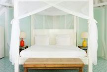 Beautiful bedrooms / by Peony and Thistle