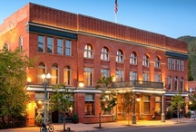 Aspen Lodging  / Aspen has a variety of properties from luxurious spa resorts to small, charming B&Bs that can accommodate every budget.  / by Aspen Colorado