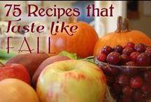 Fall Recipes / by Crystal (www.crystalandcomp.com)