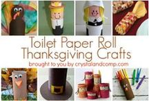 All Things Thanksgiving  / by Crystal (www.crystalandcomp.com)