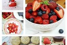 Easy Strawberry Recipes / A collection of 60 Easy Strawberry Recipes that anyone can make at home!  / by Crystal (www.crystalandcomp.com)