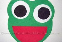 Frog Craft Projects / A collection of frog craft projects that are perfect for preschoolers and young learners. These can be used by homeschoolers, preschool teachers or in a traditional classroom.  / by Crystal (www.crystalandcomp.com)