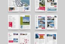 Layout Inspiration / Compositions in #page and #web #layout / by Katie Westbrook