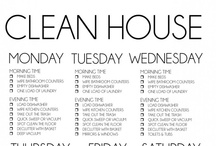 Clean House,Clean Mind / Having a clean house is a challenge, this is a collection of cleaning tips  / by Elizabeth Live.Laugh.♥