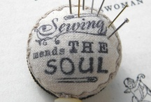 Sewing! / by CreativeThreadz