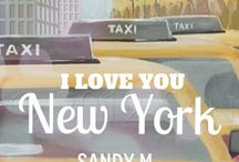 New York I Love You / Great shots of the city I love.  My love of the city influences many of my illustrations.  You'll find the city streets or penthouse apartments as the backdrop to many of my illustrations. / by SANDY M Illustration