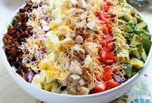 Salads/Sandwiches / by Elizabeth Dukeman