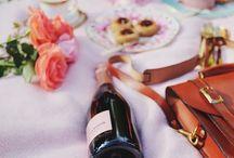 Champagne and Confetti / Celebration Inspiration / by SANDY M Illustration