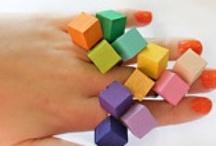 diamonds, triangles, squares / by Jennifer & jeN