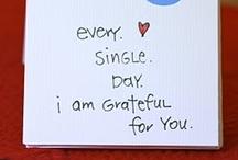 A Grateful Heart / by Lydia Foxwell