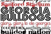 Georgia Bulldogs / by Andrea Morse