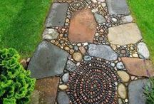 garden path / by Retta Ritchie-Holbrook