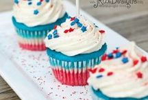 4th of July  / Crafts for 4th of July, DIY, decor, foods, and more! / by Linda {Craftaholics Anonymous®}