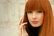 Hair Colors for Warm Tones / The hair colors on this board compliment women with warm skin tones. Check out our website for more advice and tips. / by Hairstyle-Blog.com