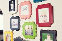 I love Gallery Walls! / Gallery walls and grouping ideas. / by Linda {Craftaholics Anonymous®}