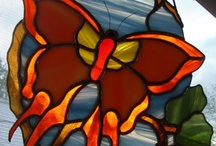 stained glass so beautiful ...not enough time  / by June White
