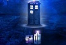 Mad man with a blue box / The wonderful world of Doctor Who / by Lauren Parsley