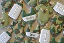 BROWNING/CAMOUFLAGE / You love camo???  This baby shower theme could be calling your name~    / by INFANTEENIE BEENIE