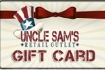 New Products / by Uncle Sam's Retail Outlet