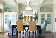Dining room/breakfast nook / by Rebecca Triplett