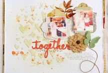Paper Crafts ~ Fall / Halloween, Thanksgiving and fall scrapbooking and paper projects / by Vallori Peltier