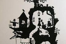 Wall stickers & Silhouettes / by Ana T Velasco