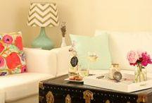 Living Room Inspirations / by Sarah Graf