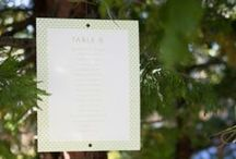 Escort Cards / by Catherine Hall Studios