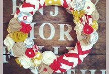 Wreath Obsession / by Sarah Graf