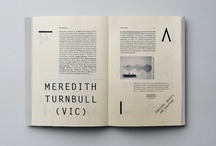 Fine Print / Editorial spreads on paper. / by tlee.