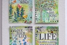 Artist Trading Cards / A place to put ideas, tips, and inspiration for making ATCs / by Elaine Mazzo