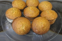 Muffin Recipes / Muffin recipes are a passion of mine (and my daughter's). / by Nancy Thomas