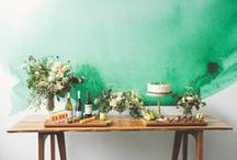 Green Wedding / Have you had your greens today? / by The Frosted Petticoat