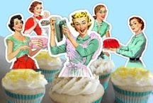 Tattoos & Cupcakes Shower / Sugar and spice and everything ... tattooed!  Pinups. Tattoos. Cupcakes. / by The Frosted Petticoat