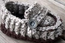 Youth & Toddler Slipper Crochet Patterns / by Lisa van Klaveren