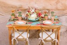 Southwestern Wedding / Like the deserts miss the rain... / by The Frosted Petticoat