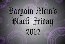 Black Friday/Cyber Monday / by Christie Dedman