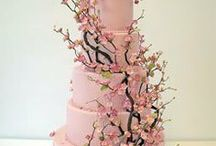 Cake, Wedding  / just wedding cakes that I think are beautiful or different / by Nancy Snyder