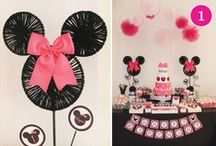 Mickey and Minnie Party! / by Megan Sheakoski ::Coffee Cups and Crayons