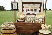 Popcorn Parties / Thinking of throwing a popcorn party? Find out how to make a popcorn bar, popcorn party favors and other fun popcorn party ideas.   / by Kernel Season's
