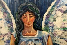 angel paintings / by Laura Walker
