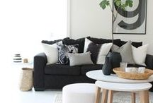 color study: Black & White / by Sotheby's Homes