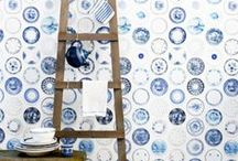 color study: Delft Blue / by Sotheby's Homes